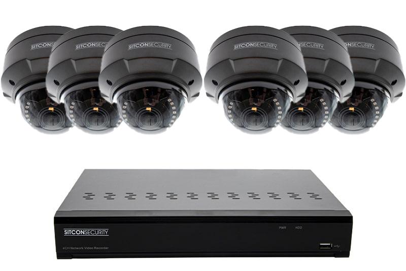 Dome bewakingscamera set SMART 6