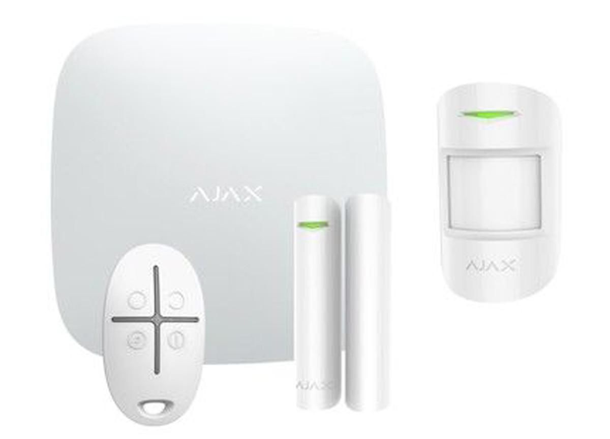 Wi-Fi alarmsysteem Wit SMART