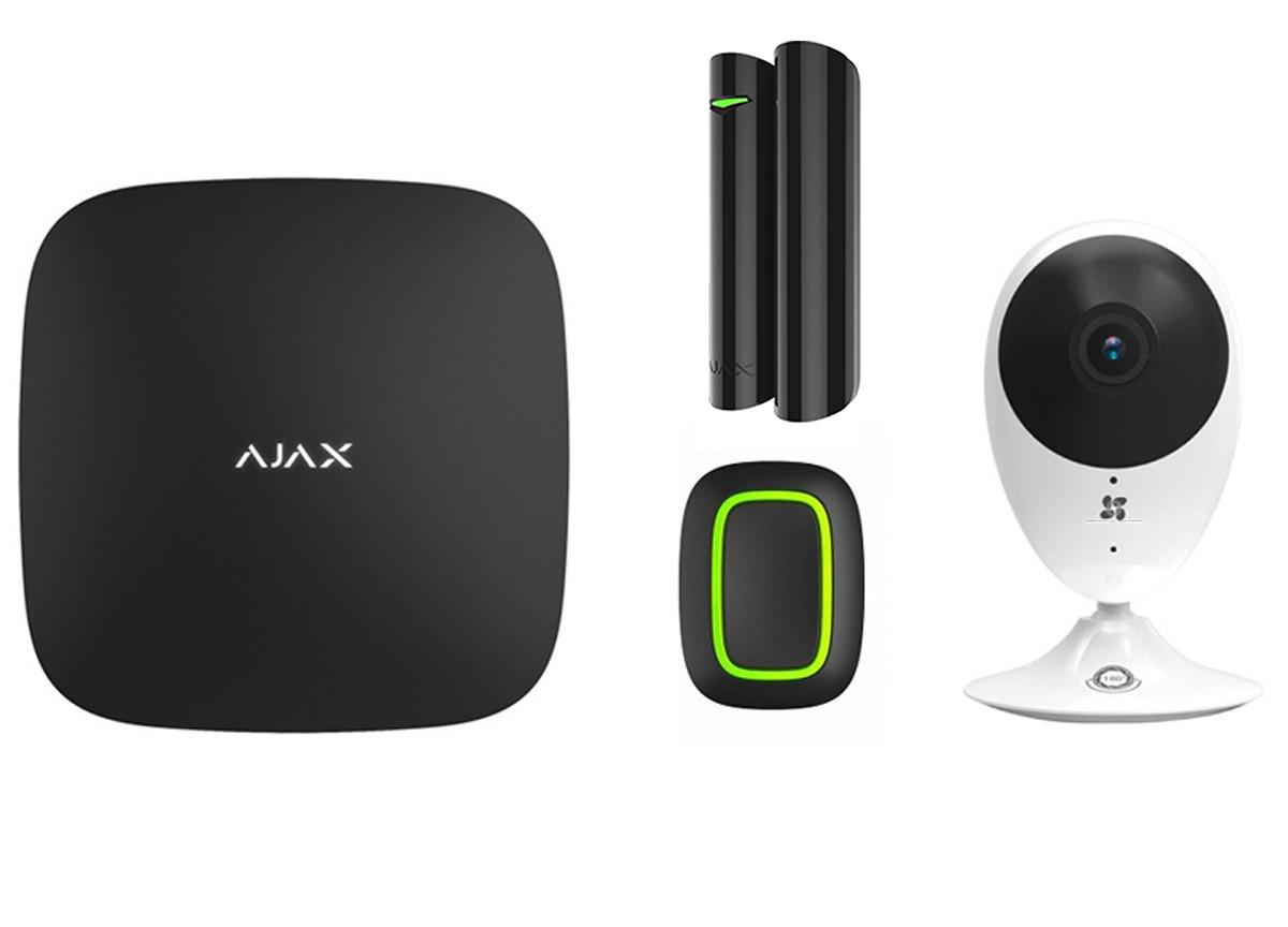 Zorg-kit met sos knop, deur melder en camera SMART