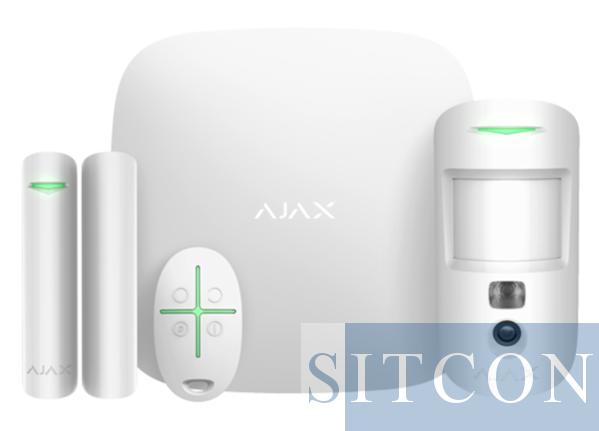 AJAX Hub 2 starterskit met MotionCam - Wit
