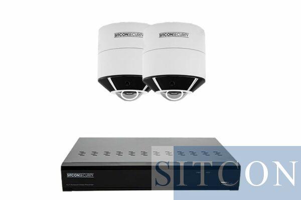 Fisheye 360º bewakingscamera set SMART 2