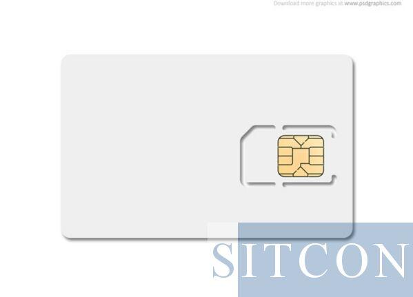 Pre-paid data sim - EU - 6 Mnd