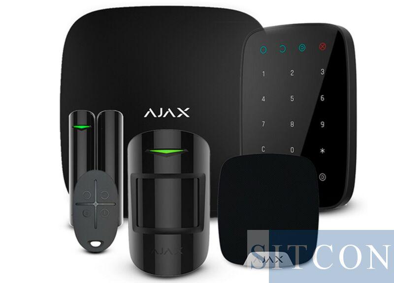 AJAX draadloos alarmsysteem Compleet Zwart