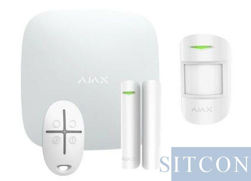 IP + GSM Alarmsysteem Wit ELITE