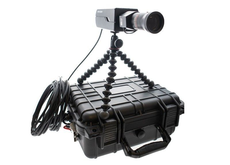 Mobiele camera set - Box + zoom lens