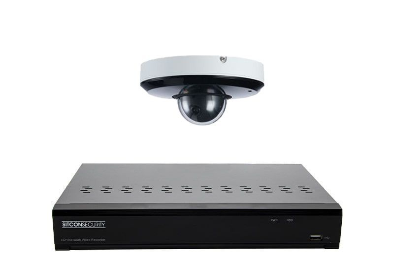 hd nvr recorder ptz camera systeem