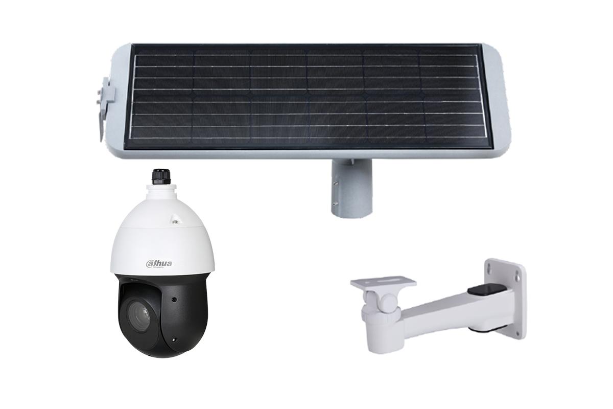 4G PTZ camera met zonnepaneel ELITE