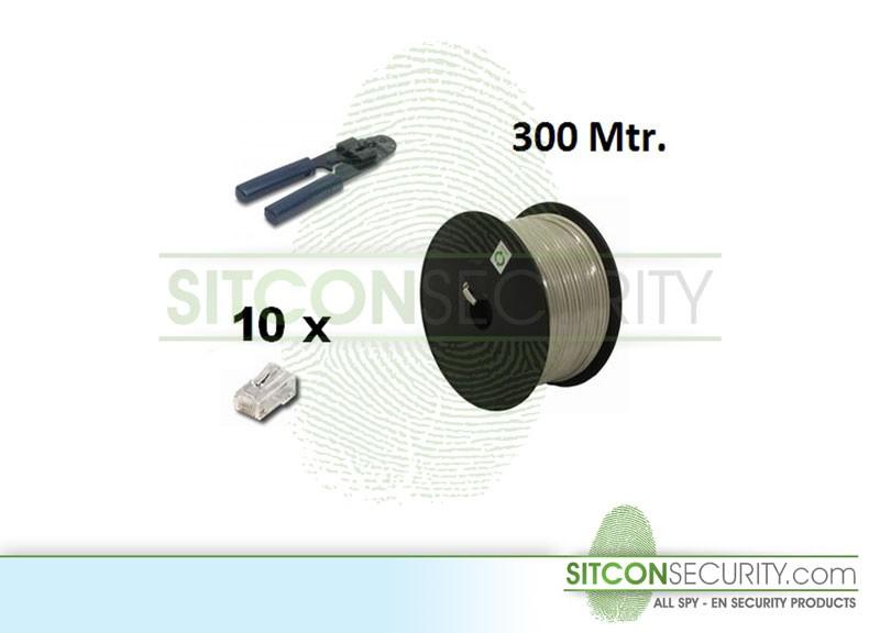 UTP kabel set - 300 Mtr