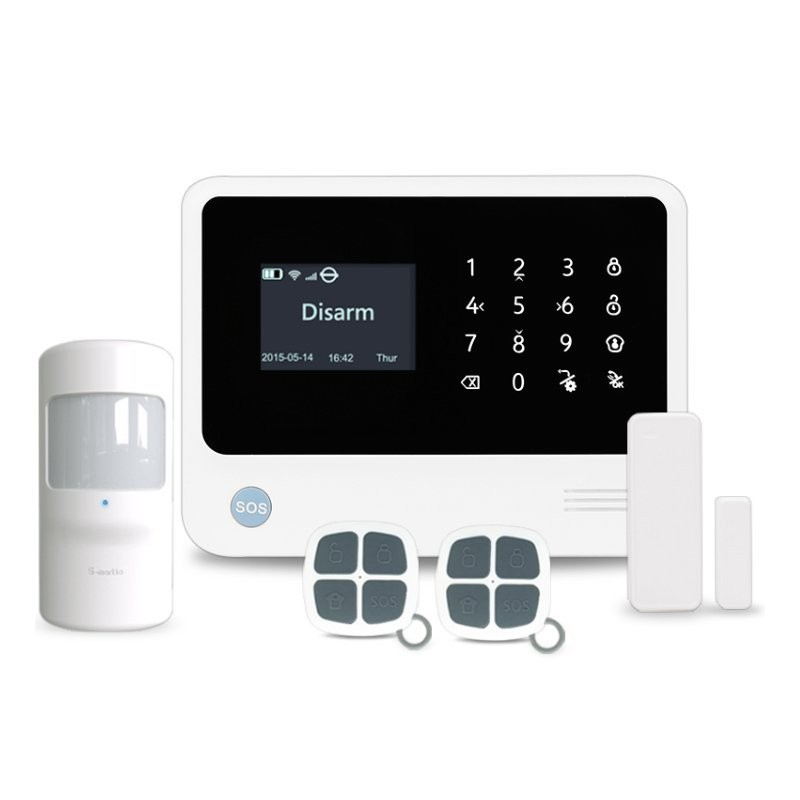 Draadloos Wi-Fi + GSM alarmsysteem EASY